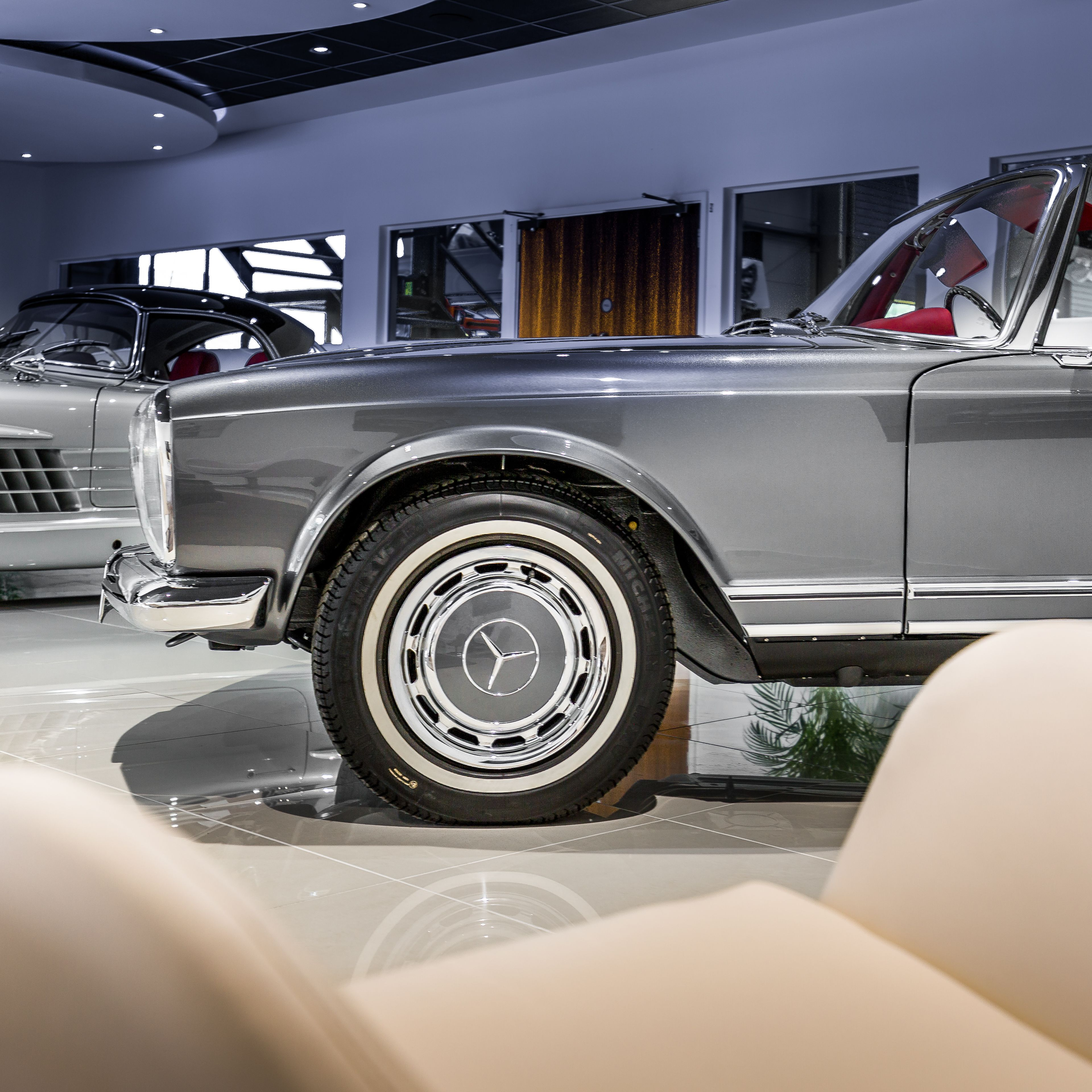 Mercedes-Benz Pagoda 280SL In The Hemmels Showroom Located