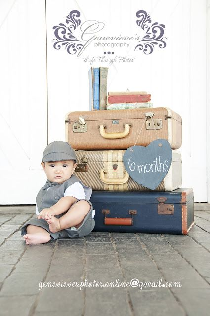 Genevieve's Photography: Gunnar's 6 month Session