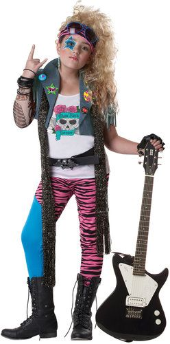 80s glam rockstar costume i remember dressing up like this