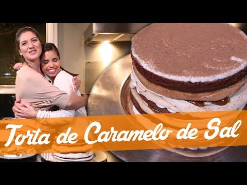 Aprenda A Fazer A Deliciosa Torta De Caramelo Salgado Com Imagens