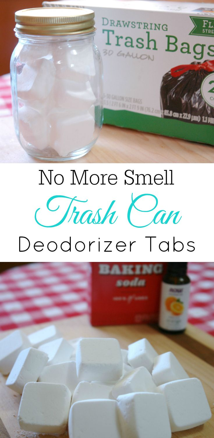 How To Make Trash Can Deodorizer Tabs Retro Housewife Goes Green
