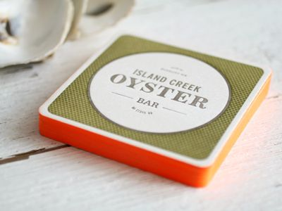 ICOB Coasters   Coaster design, Business cards and Restaurant branding