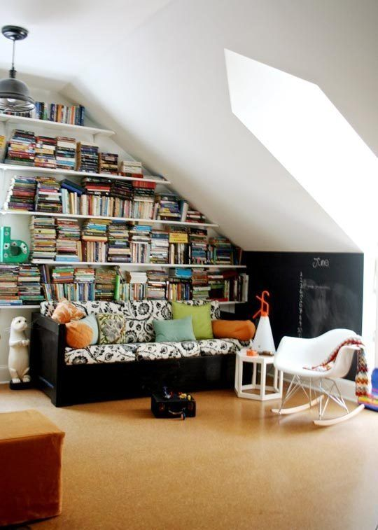 Rooms that Make the Most of a Sloped Ceiling