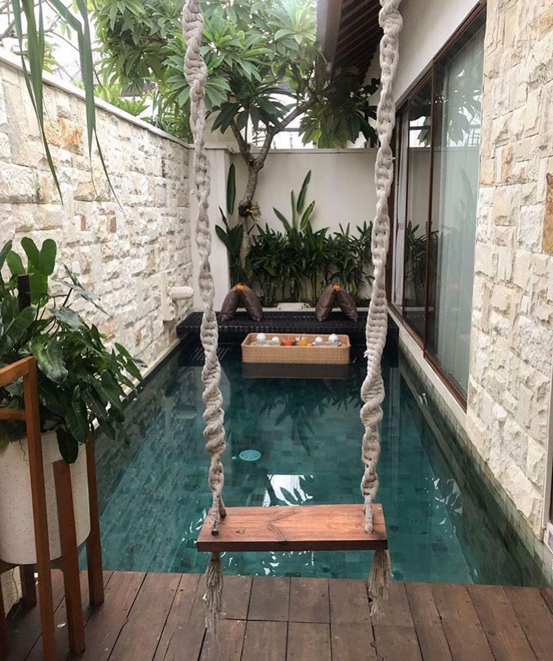 18++ Decoracion de patios con piscina ideas in 2021