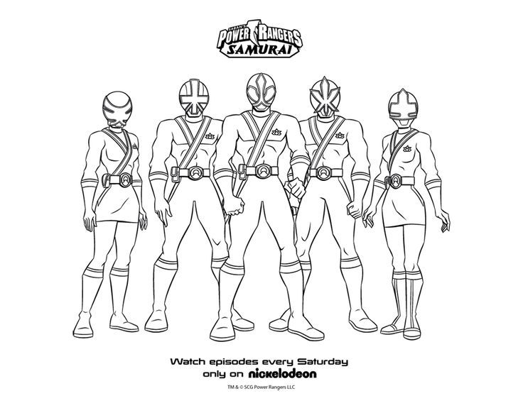 power rangers samurai coloring pages superheroes coloring pages