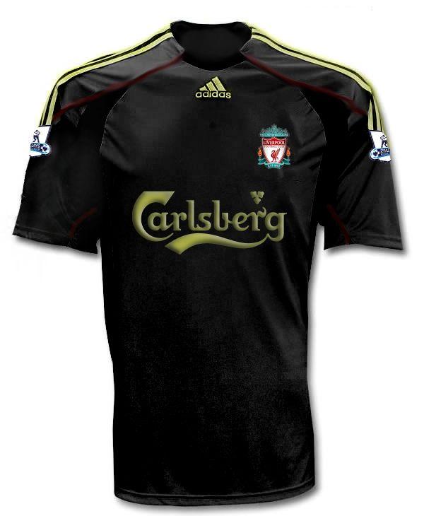 New Liverpool Away Shirt 2009 10  55ef6177ca066