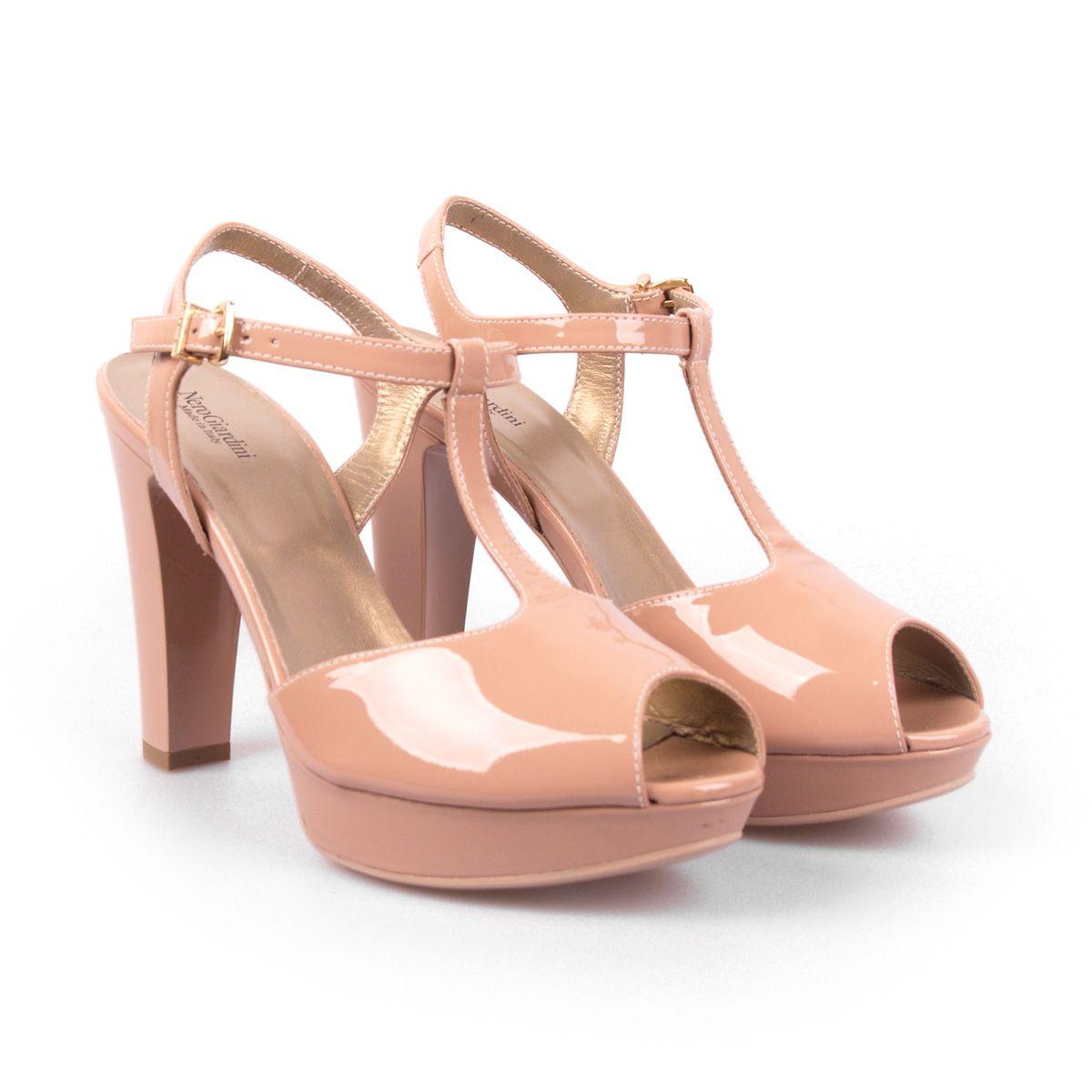 f92be5a75201 Nero Giardini ženske sandale - 512592 VERNICE NUDO