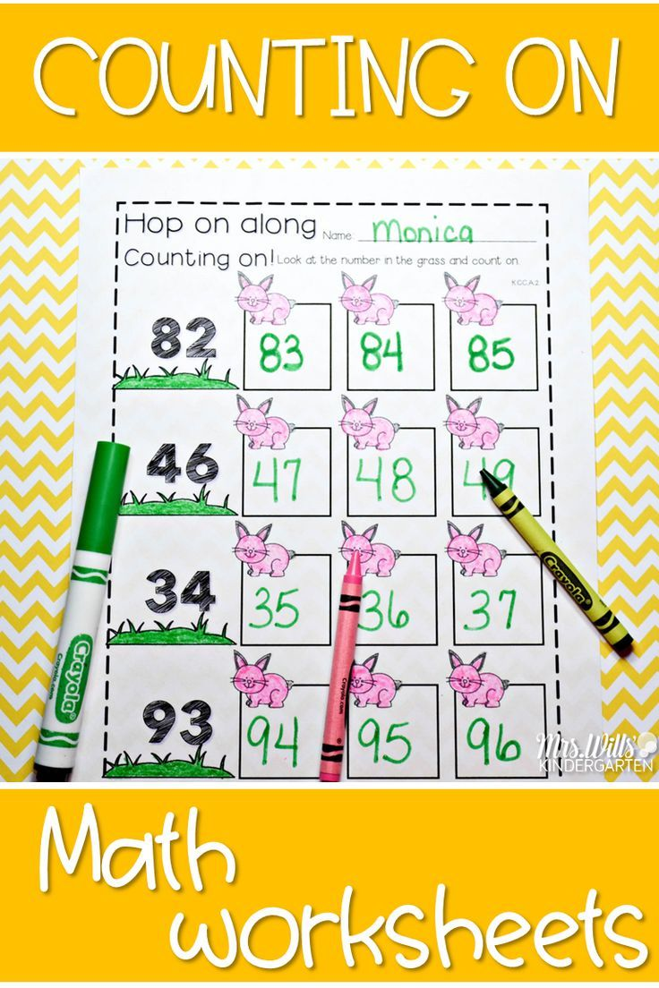 Kindergarten Math: Homework Unit 10 Year in Review | Counting ...