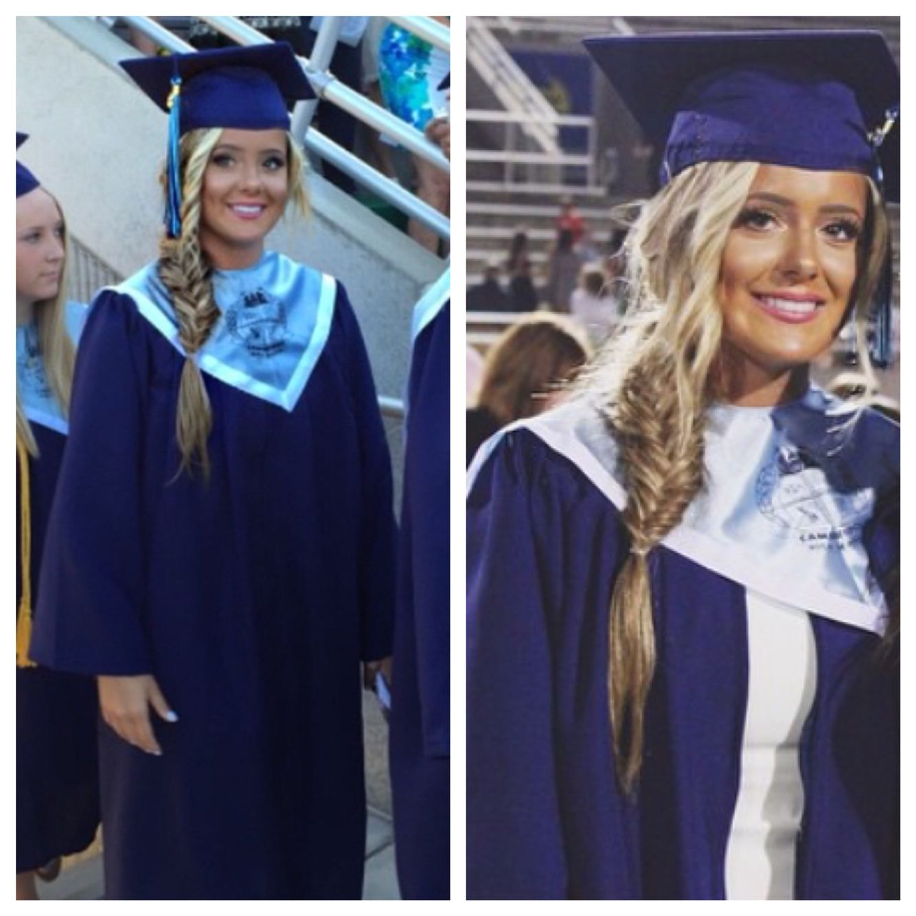 15 Simple But Cute Graduation Hairstyles To Wear Under Your Cap ...