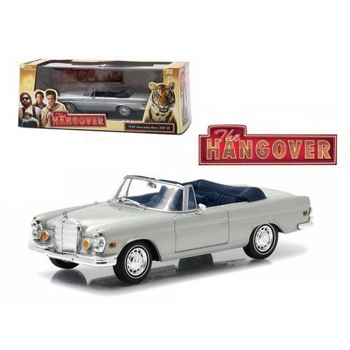 """1969 Mercedes 280 SE Convertible Top Down """"The Hangover"""" Movie (2009) 1/43 Diecast Model Car by Greenlight"""