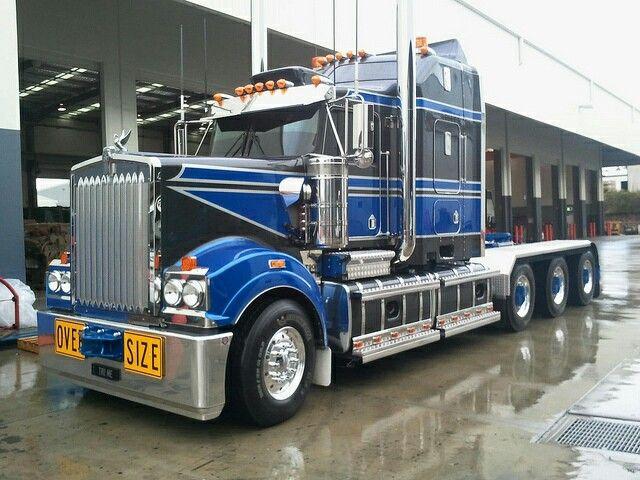 Kw Hha Tri Drive Big Rig Trucks Kenworth Trucks Western Star Trucks