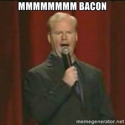 jim gaffigan bacon meme