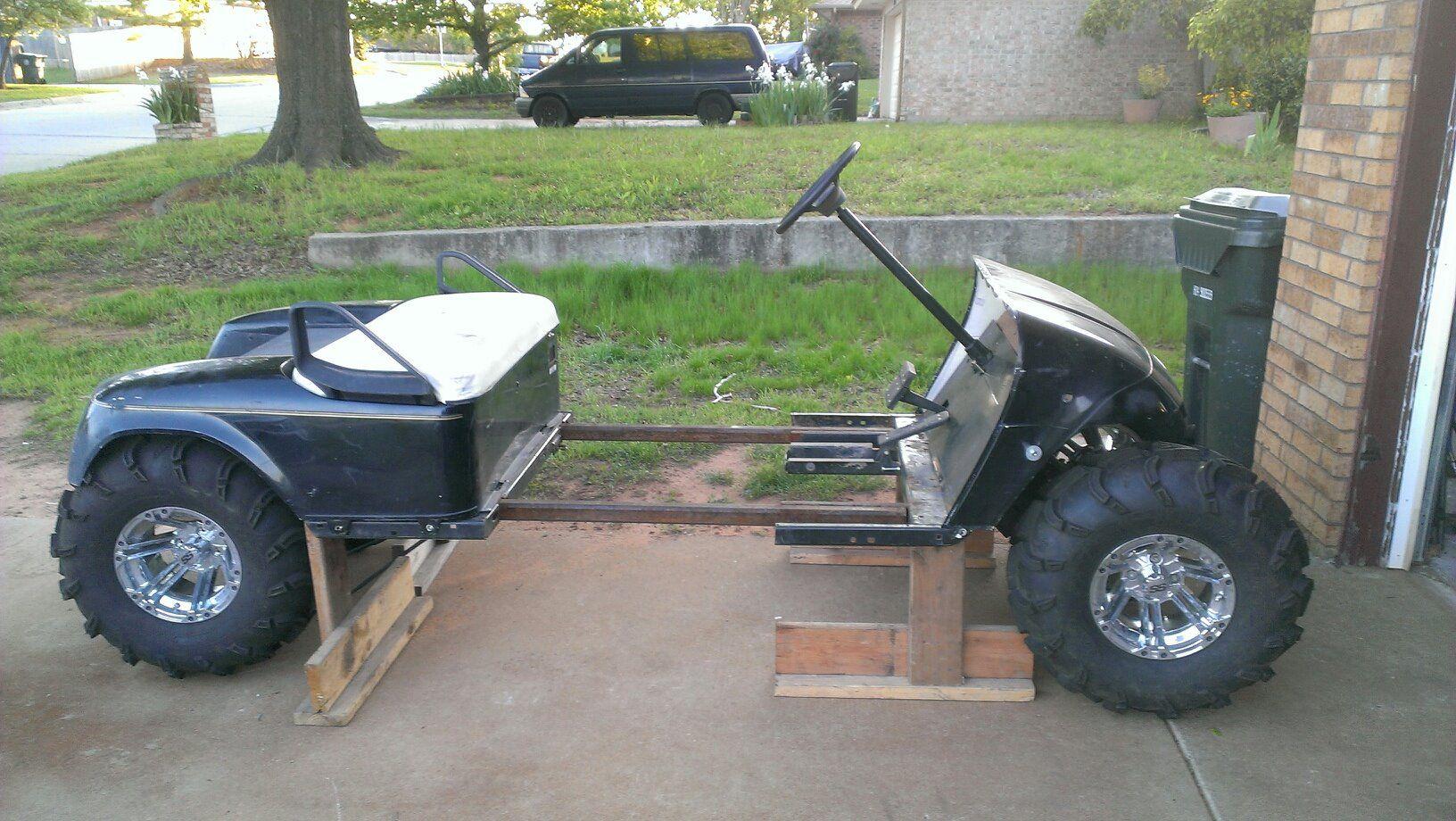 Lifted Stretched Gsxr 600 Ezgo Golf Carts Custom Golf Carts Lifted Golf Carts