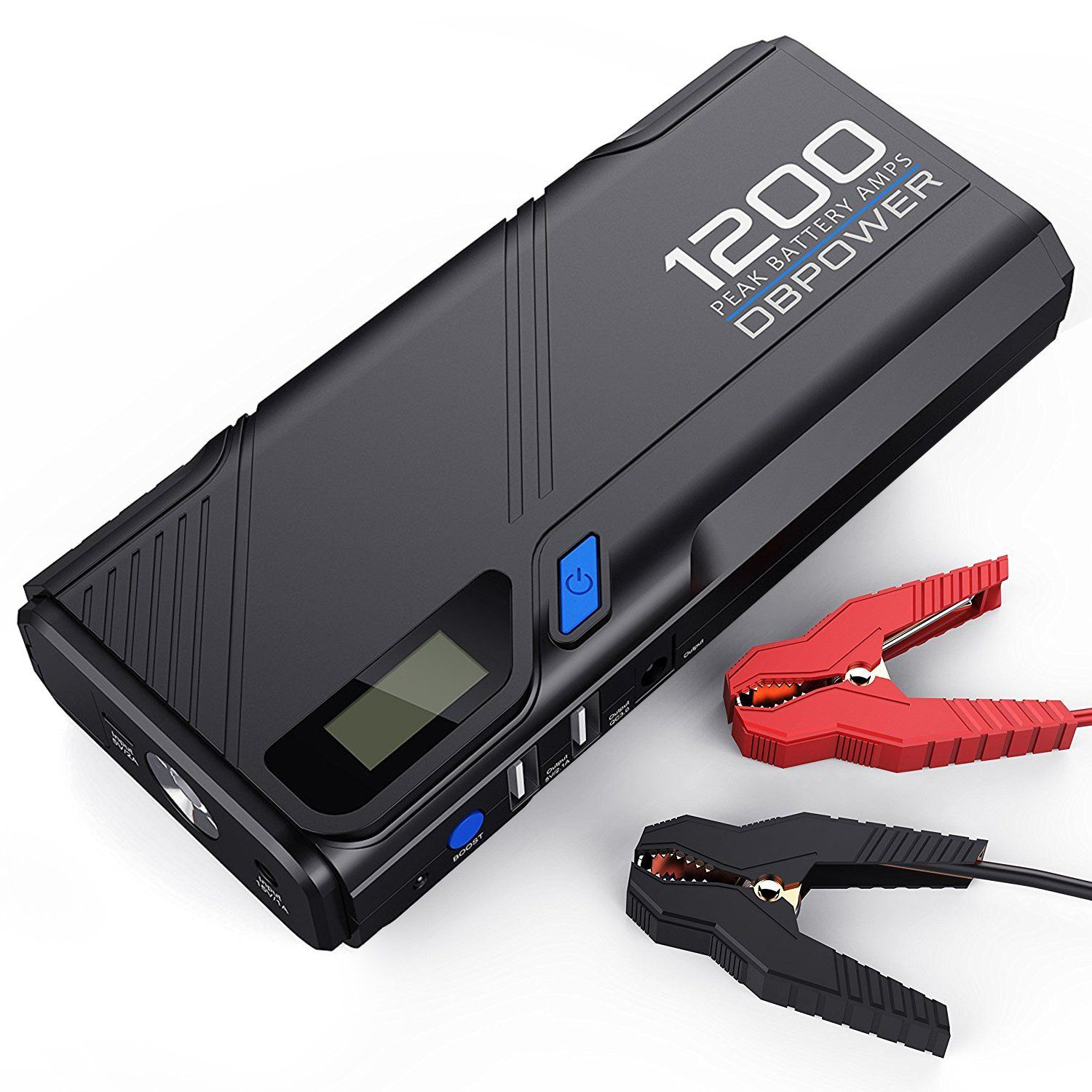 Great Gifts For Men Best Portable Car Battery Charger 2018 Portable Phone Charger Car Battery Emergency Flashlight