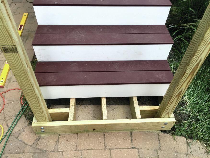 Building a strong deck railing | Pro Construction Forum ...