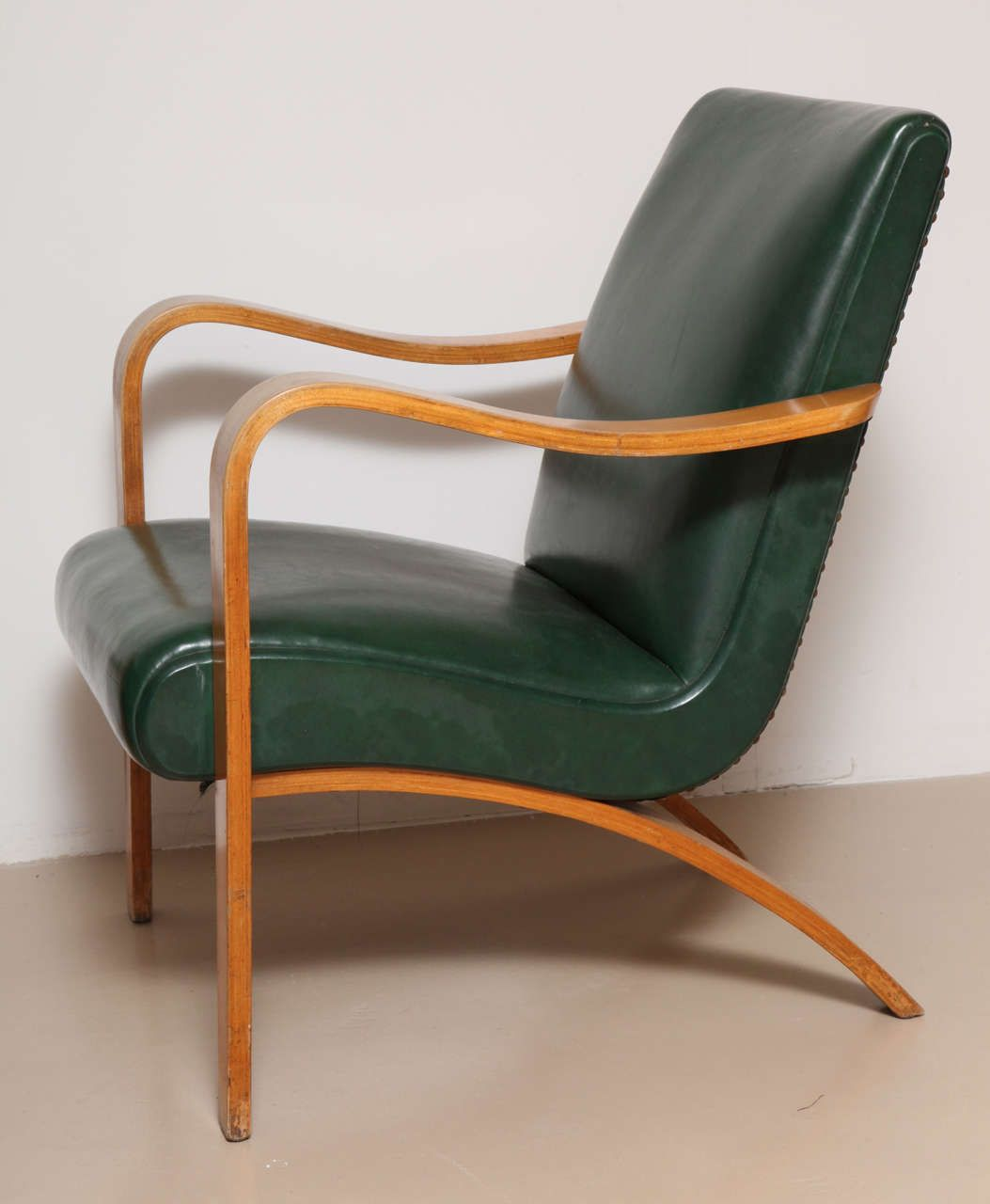 Bentwood lounge chair - Pair Of 1940s Thonet Bentwood Lounge Chairs