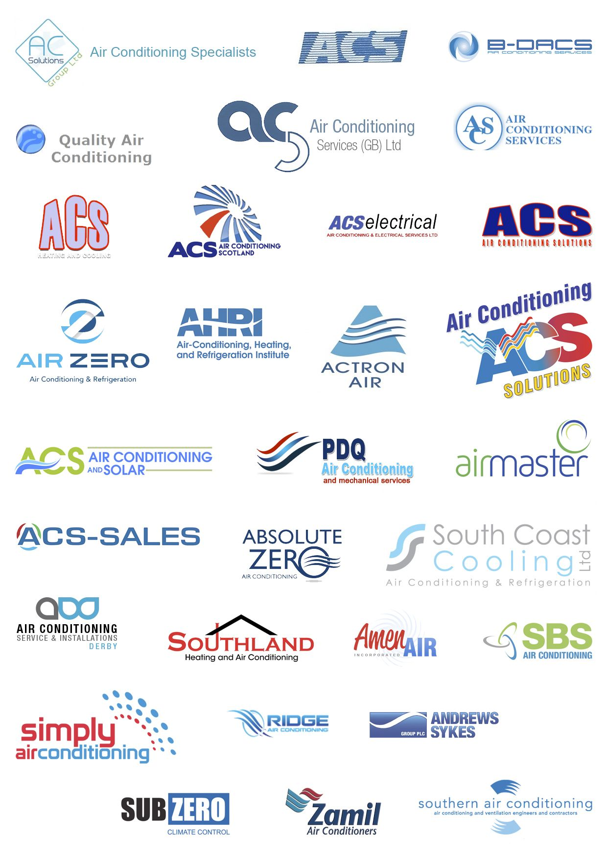 Many Air Conditioning Services Haven T Spent A Lot Of Money On Their Logo A Lot Used Logo Comp Air Conditioning Logo Air Conditioning Services Air Conditionar