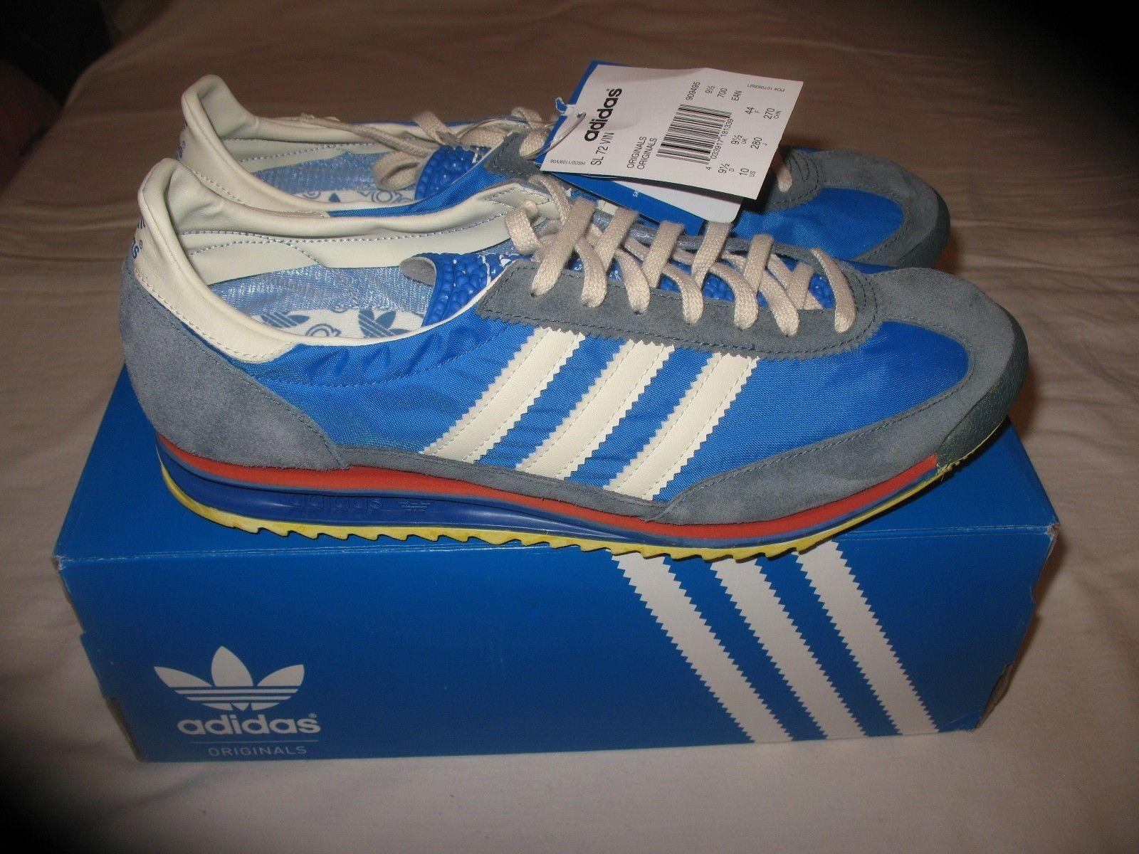 7feab4fbadd NEW Adidas Originals SL 72 VIN UK 10.5 US 11 ART 909495 RARE VINTAGE ...