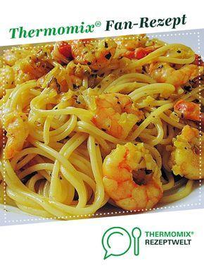 Garnelen Spaghetti Töpfchen #garlicshrimprecipes