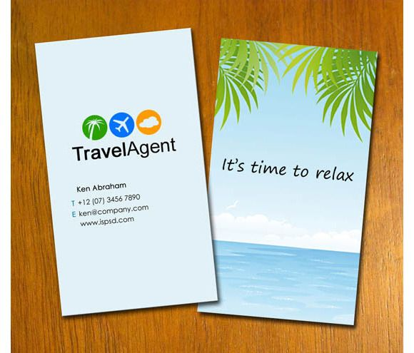Check Out S7 Travel Agent Business Card By Riming1702 On Creative