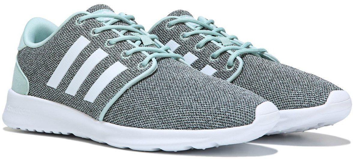 Adidas Women's Cloudfoam QT Racer Sneakers, Famous Footwear
