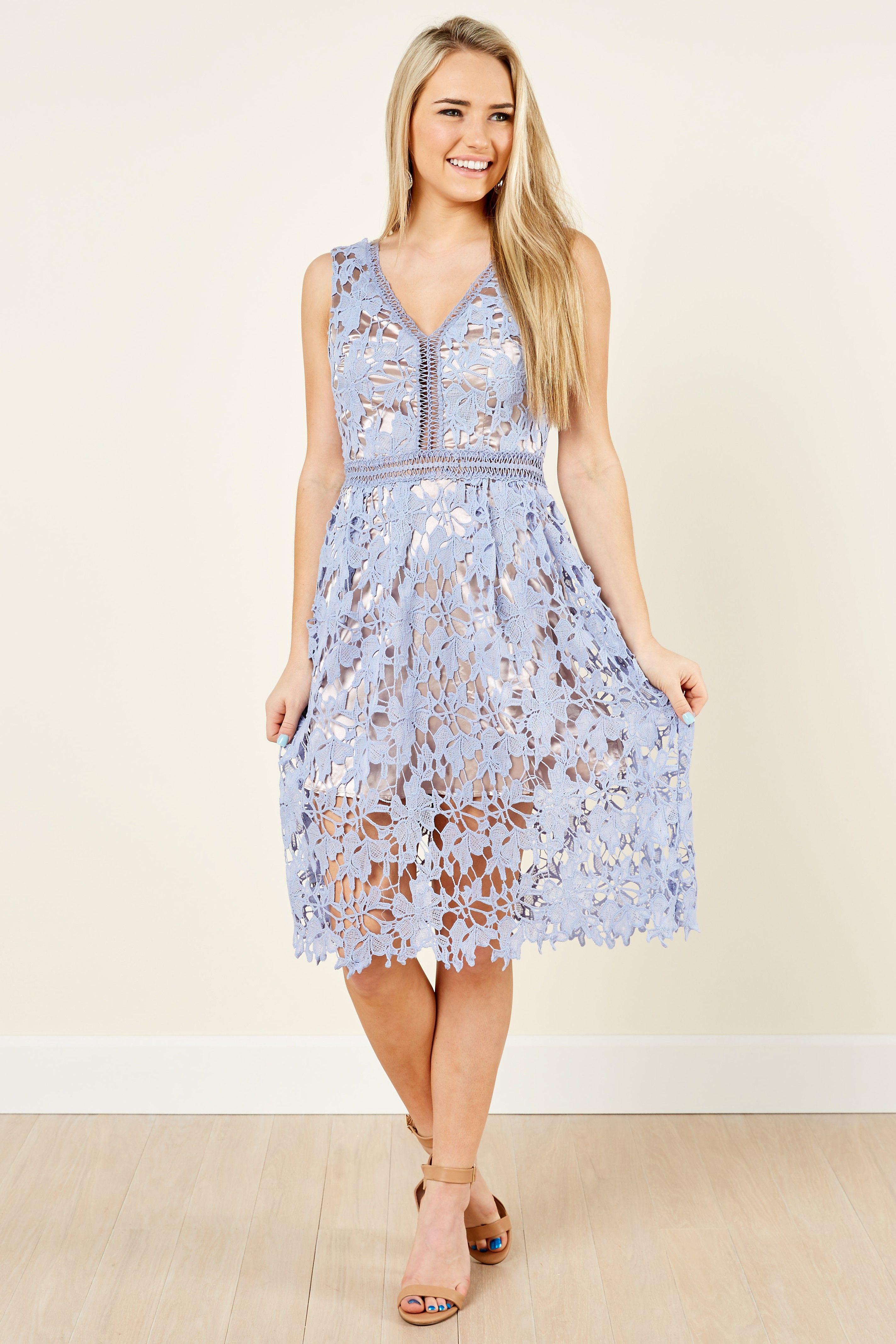 Ever after garden tea lavender lace dress at reddressboutique