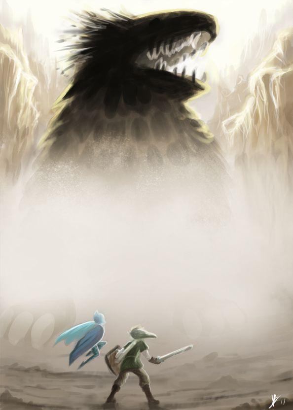 Link VS The Imprisoned