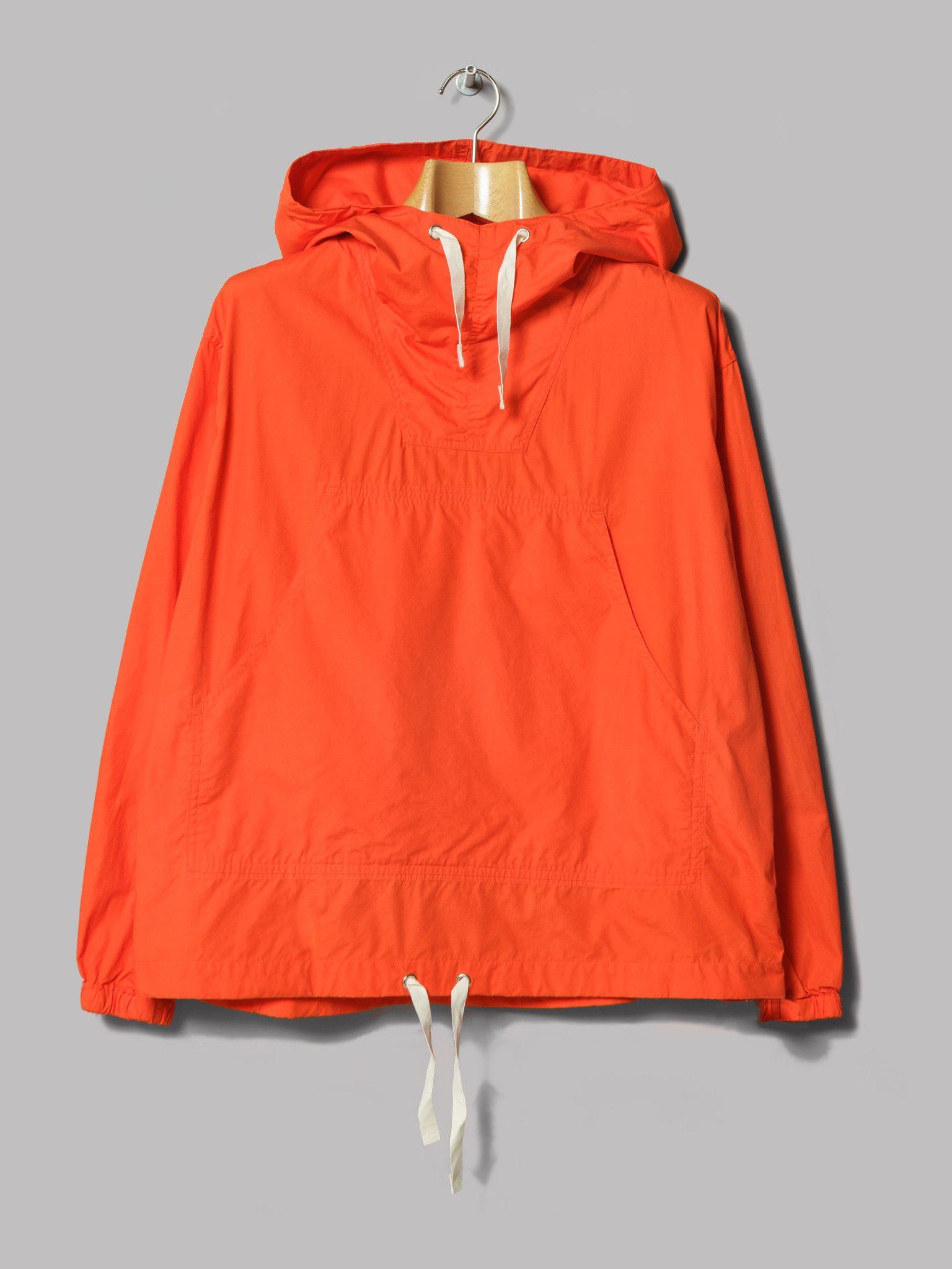 Beams Plus Broad Anorak (Red) | Menswear | Jackets, Hooded