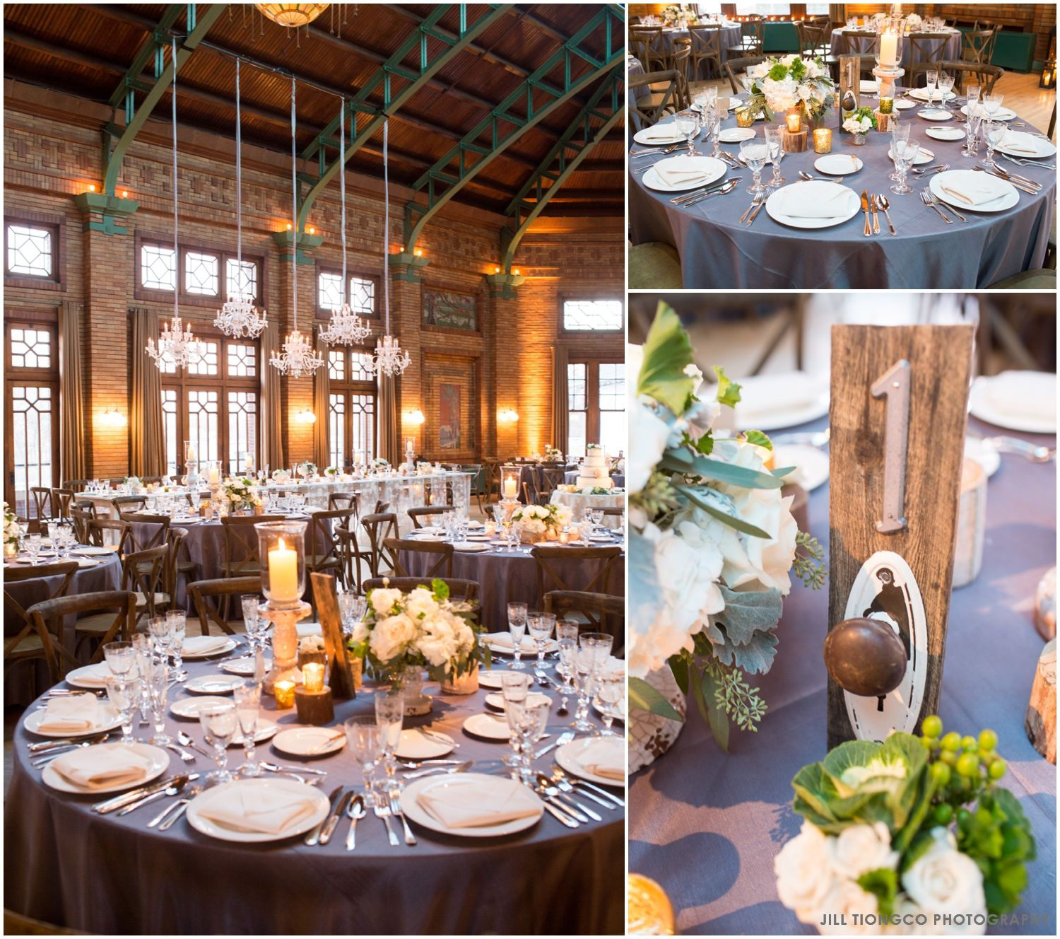 Wedding decoration ideas Lincoln Park Zoo Cafe Brauer