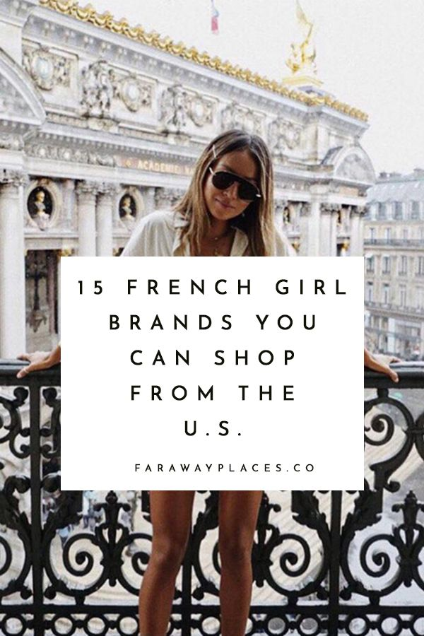 Want to Shop Like a French Girl? - faraway places