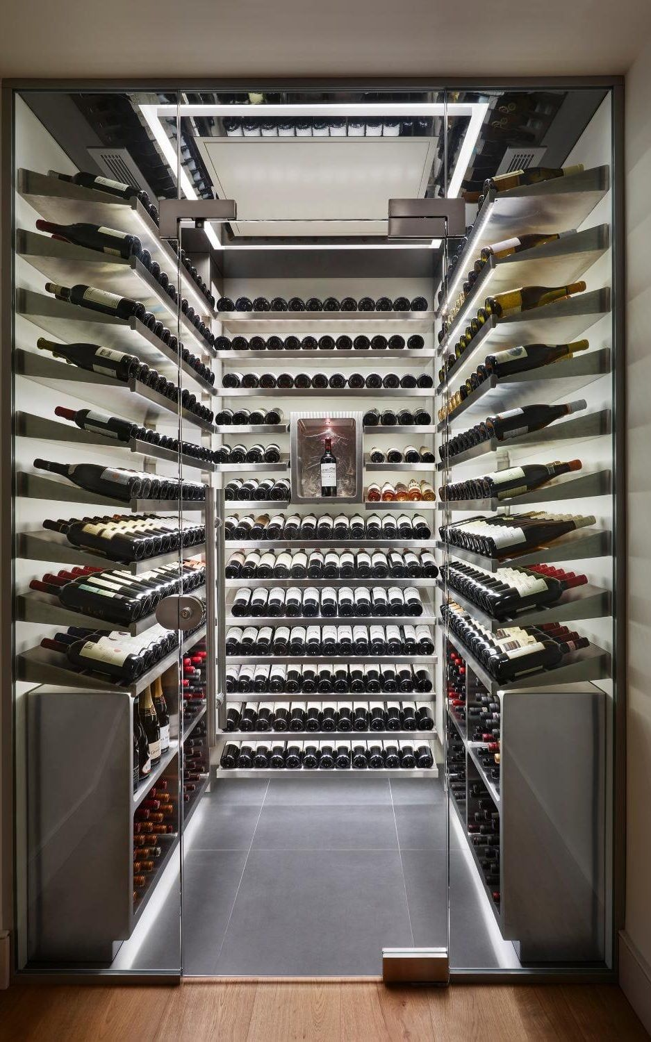 One of Spiralu0027s walk-in wine cellars which cost an average of £30000 & One of Spiralu0027s walk-in wine cellars which cost an average of ...