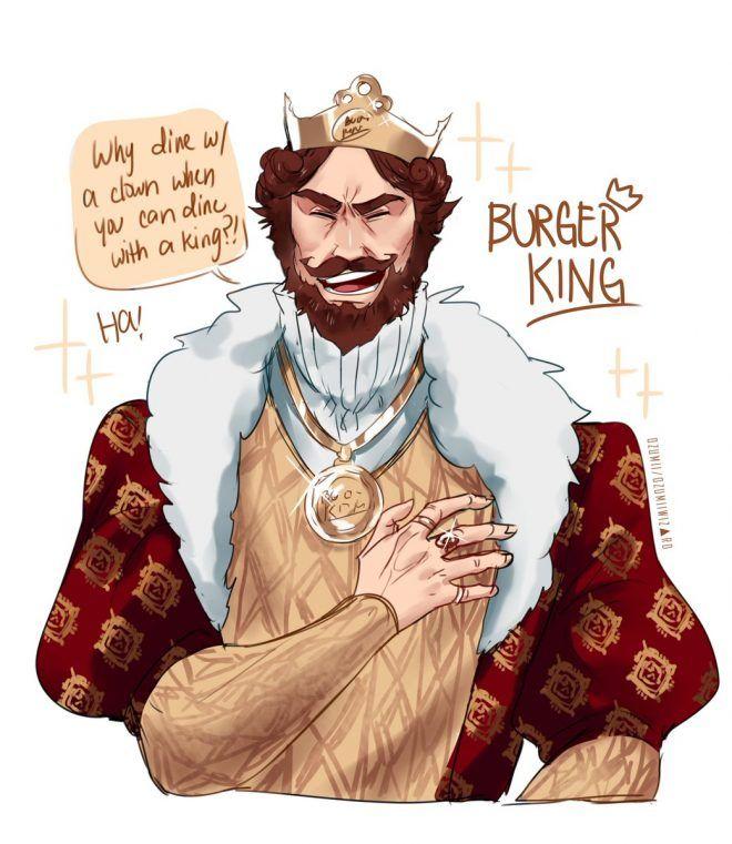 Hahahaha Burger King X