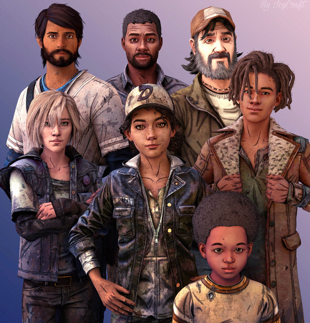 The Walking Dead Game by ICYCROFT on DeviantArt