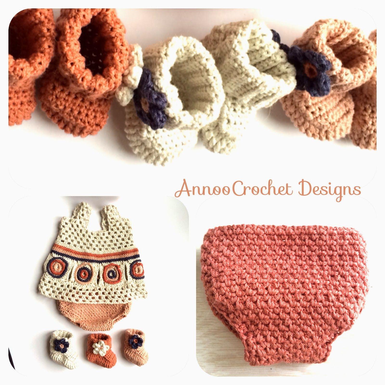 Annoo\'s Crochet World: Newborn Diaper Cover Free Pattern ❥Teresa ...
