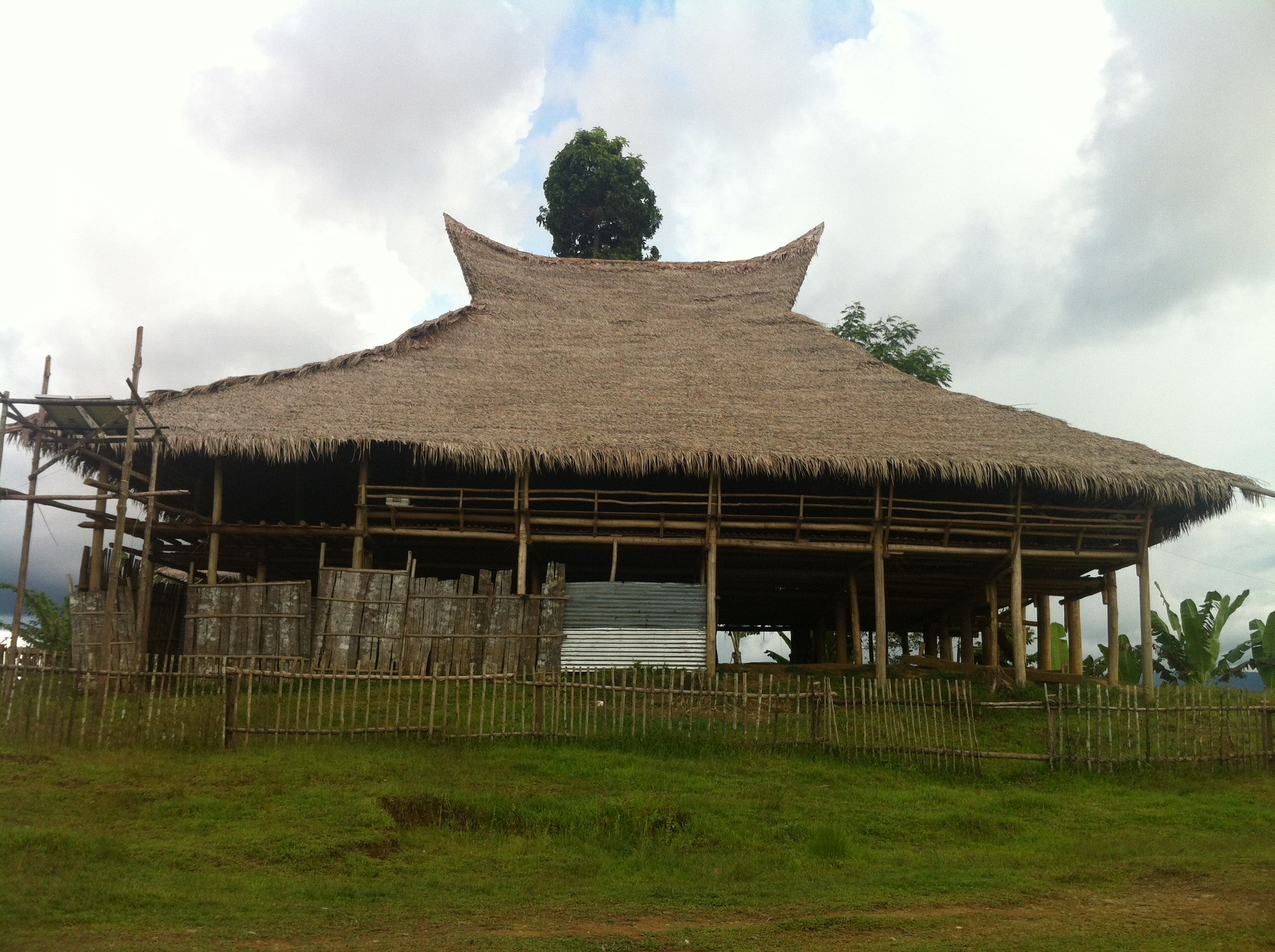 Tribal Hall for the Manobo, Banwaon, and TalaAndig in Northern