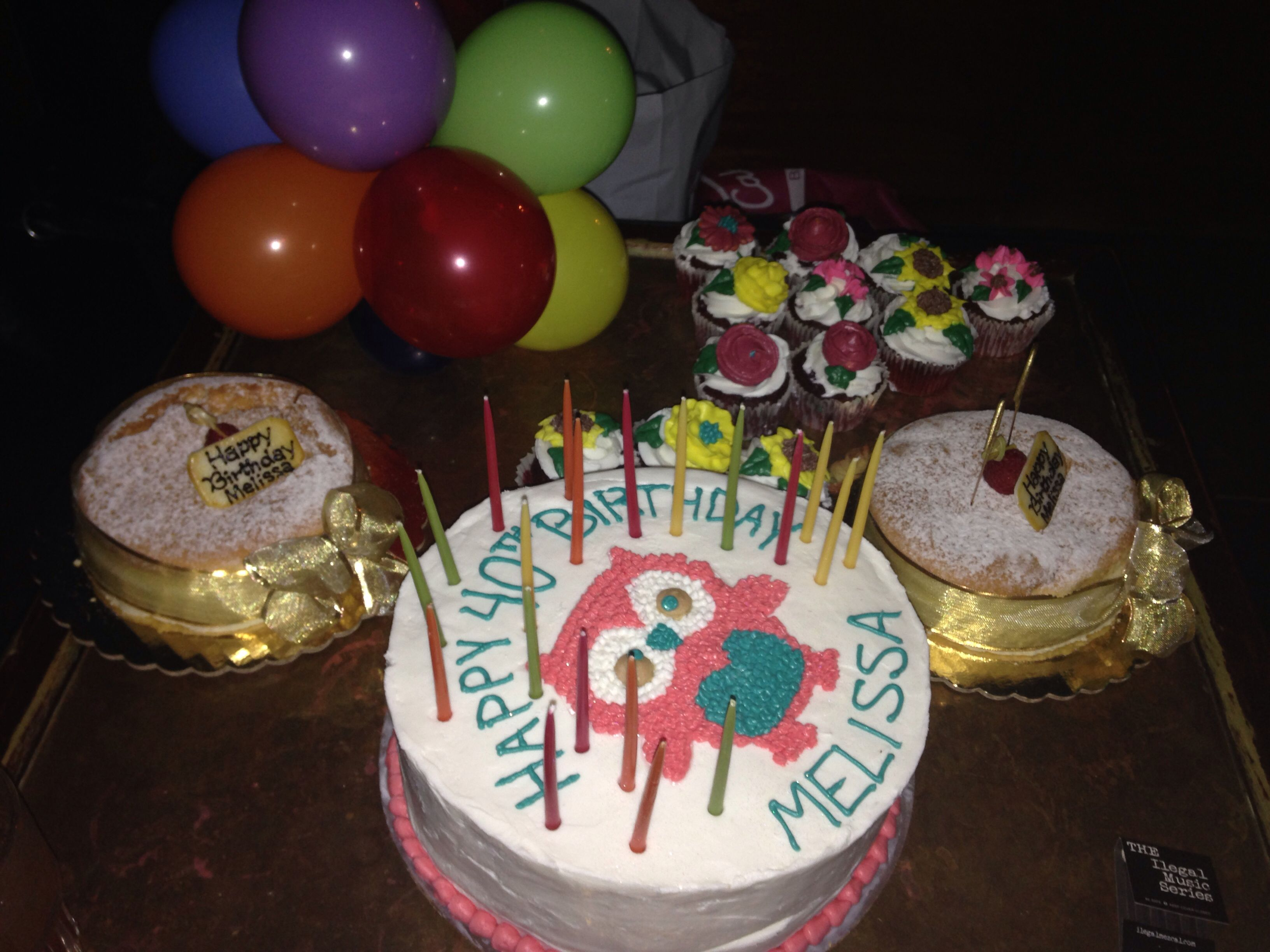 Pleasant Happy Birthday Melissa Cake Birthday Cake Personalised Birthday Cards Beptaeletsinfo