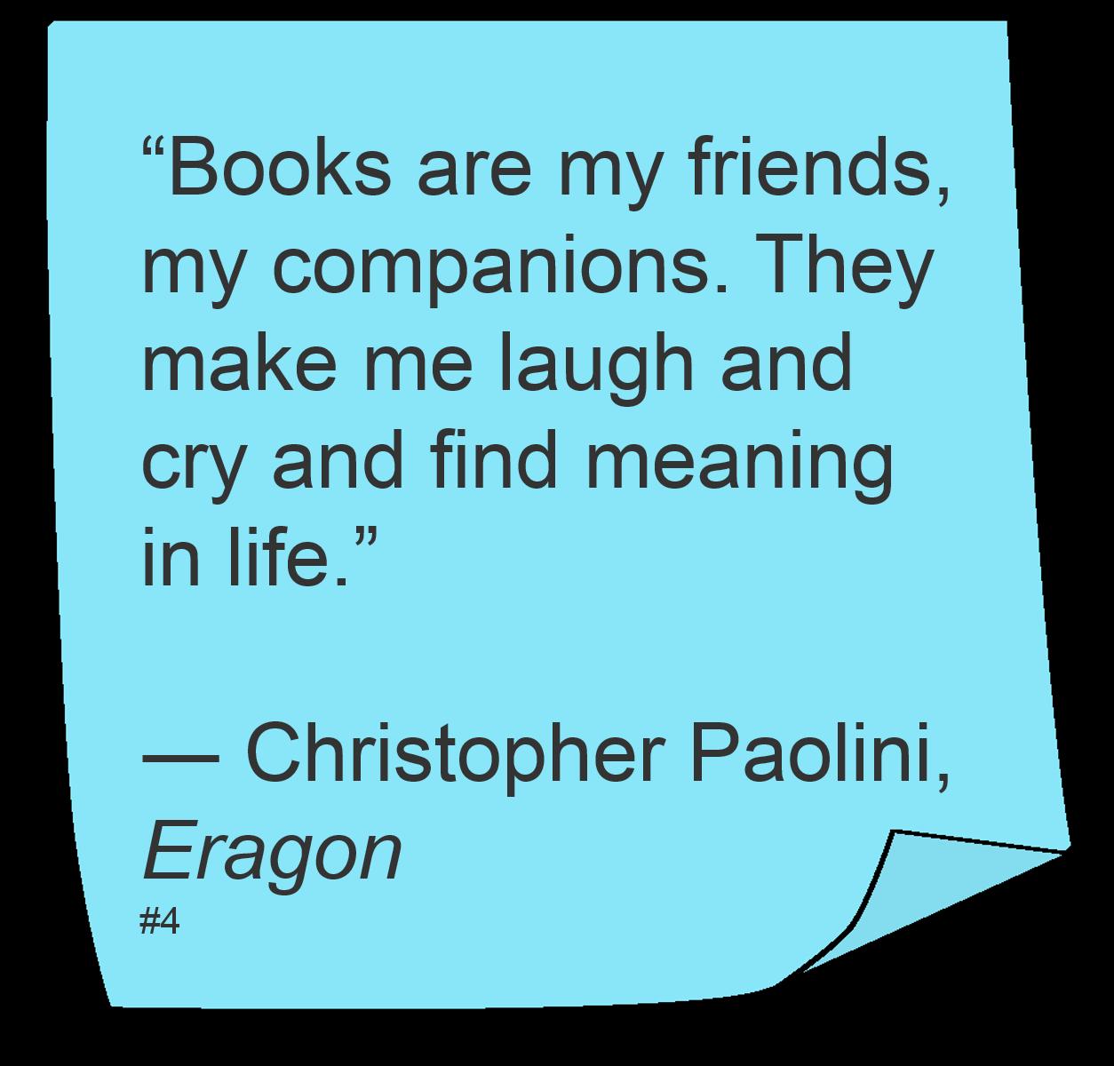 Christopher Paolini Quotes (Author of Eragon) | Book ...  Eragon Book Quotes