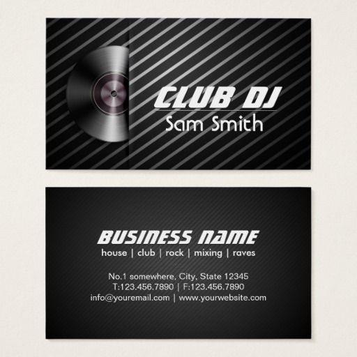 Dj modern stylish turntable vinyl recoder mixer business card dj dj modern stylish turntable vinyl recoder mixer business card reheart Images