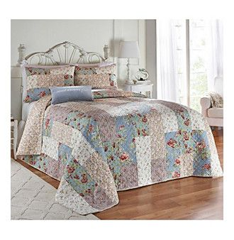 Jessica Simpson Monroe quilt (With images) | Bedroom decor ...