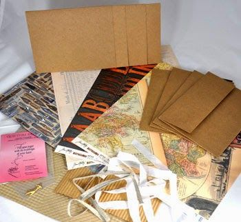 Quietfire Creations: Tuesday Winsday - Vintage Kraft Kit Enter to win this great kit