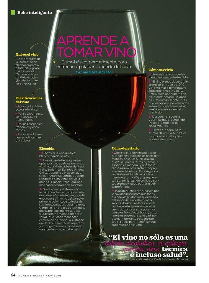Aprende A Tomar Vino Tomando Vino Copas De Vino Vino
