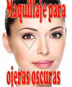 maquillaje para ojos con ojeras