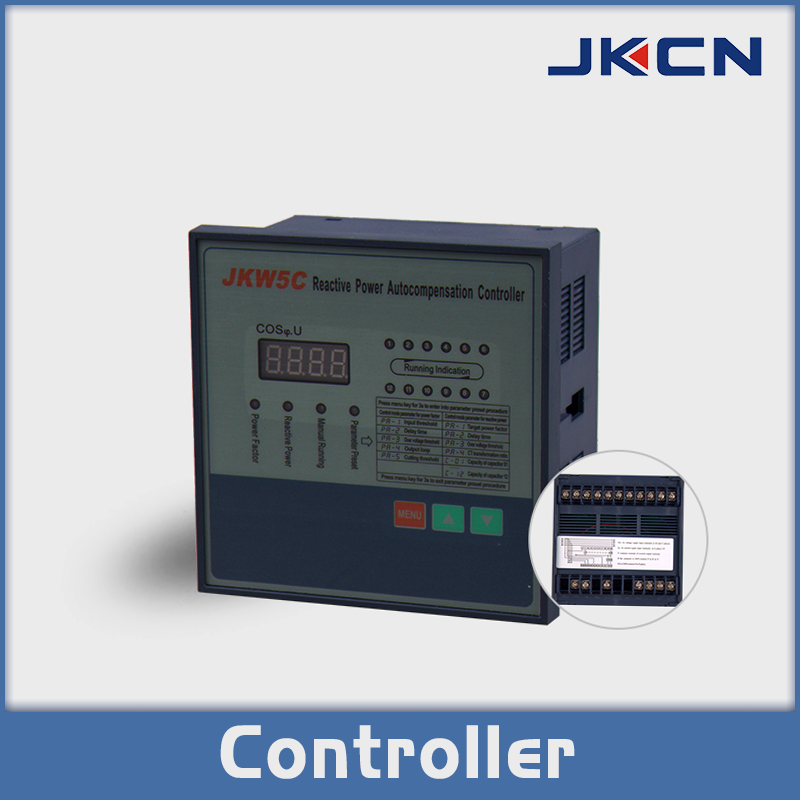 Jkw5c Reactive Power Compensation Controller The Reactive Power Auto Compensation Controller Is The Auxiliary Produc Capacitor Advanced Technology Technology