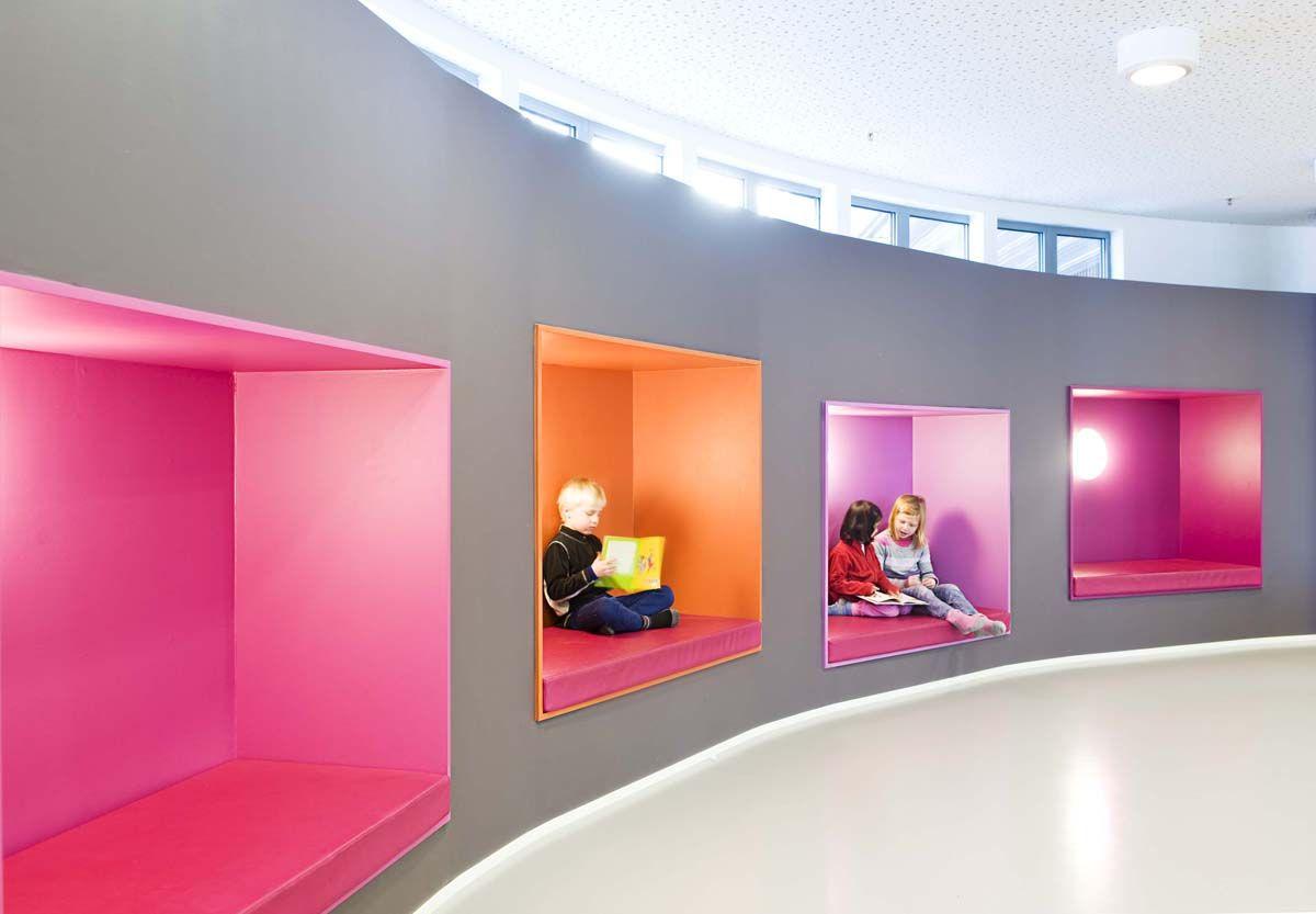 Nsmoen Primary School Eidsvoll Norway Colour In