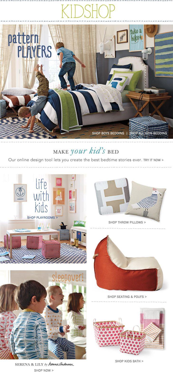 Bedroom Designer Tool Kids Bedding & Furniture Designer Kid Decor  Serena & Lily