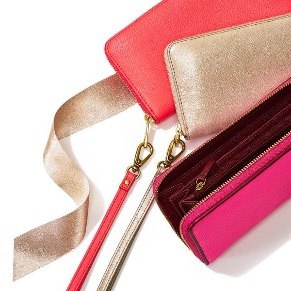Zip Clutch by Fossil