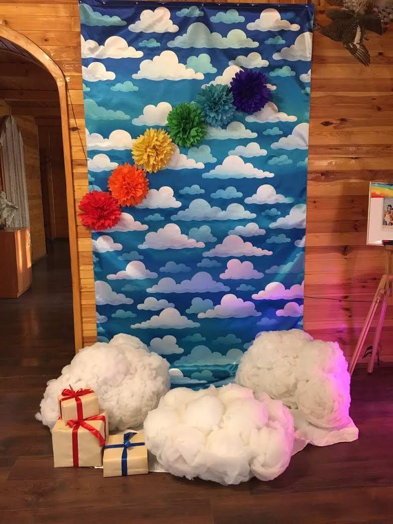Фотозона облака и радуга)   Декор, Детские, Облака