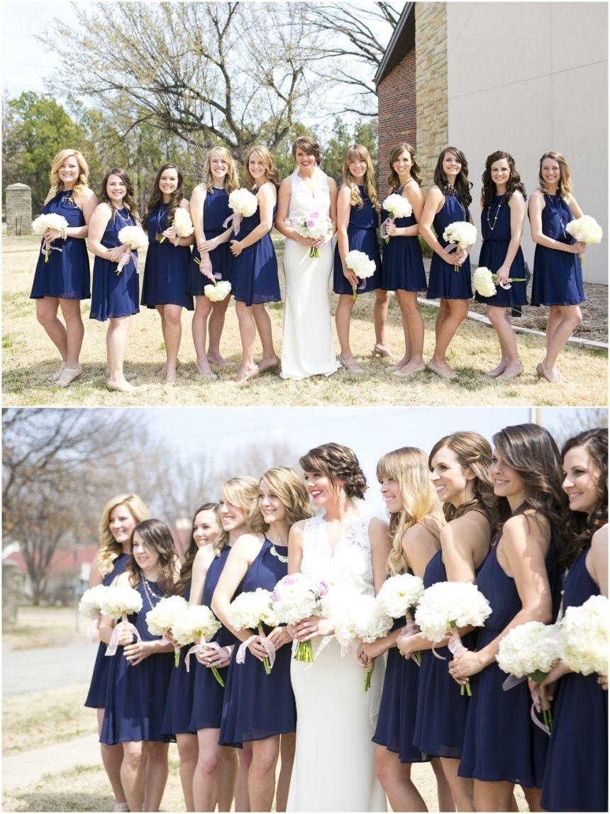Megan joe navy bridesmaids dallas wedding photographers and dallas wedding photographer mary fields photography navy and white wedding colors navy bridesmaid ombrellifo Image collections