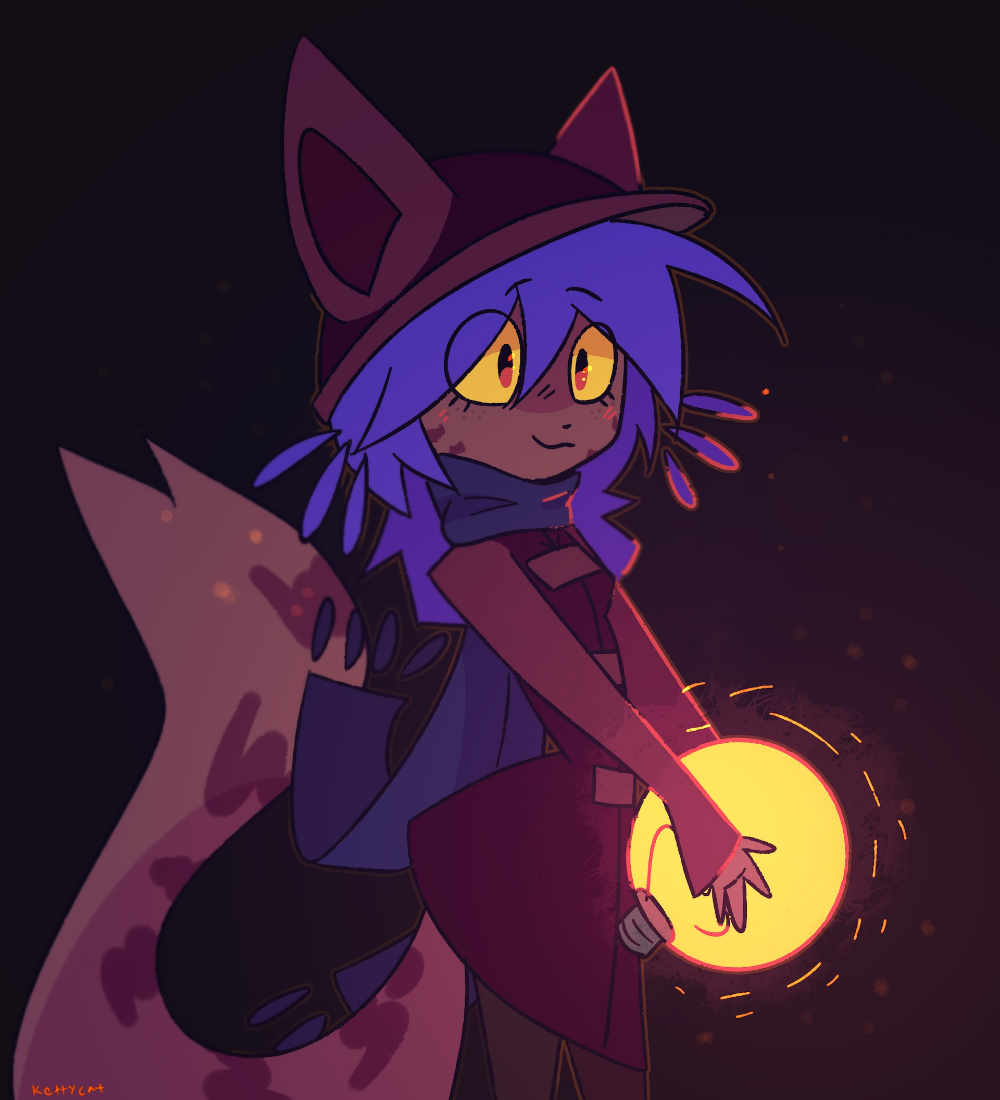 Niko by Ketty Cat Food on Steam Cats, Character
