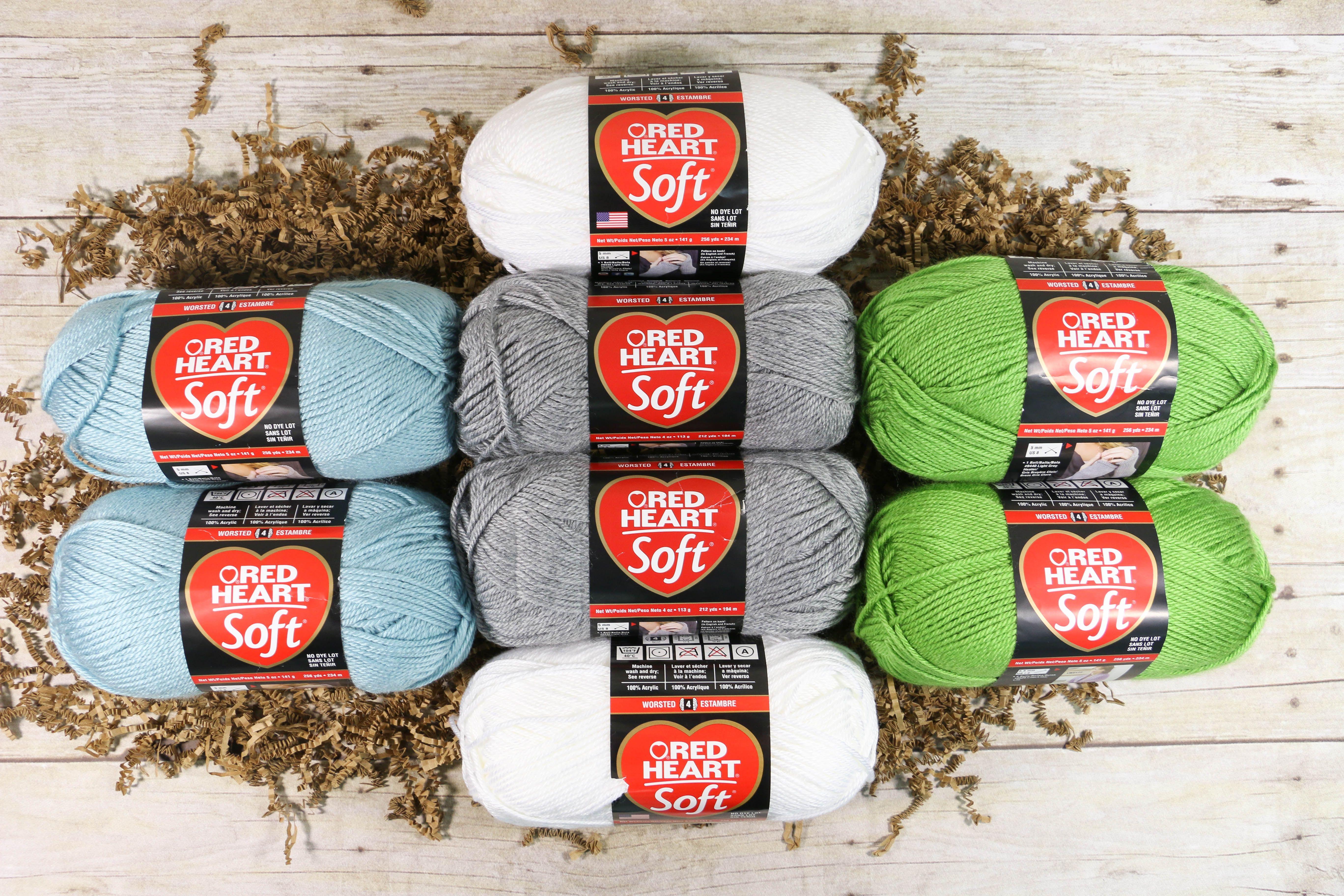 Red Heart Yarn Assortment | Crochet | Pinterest